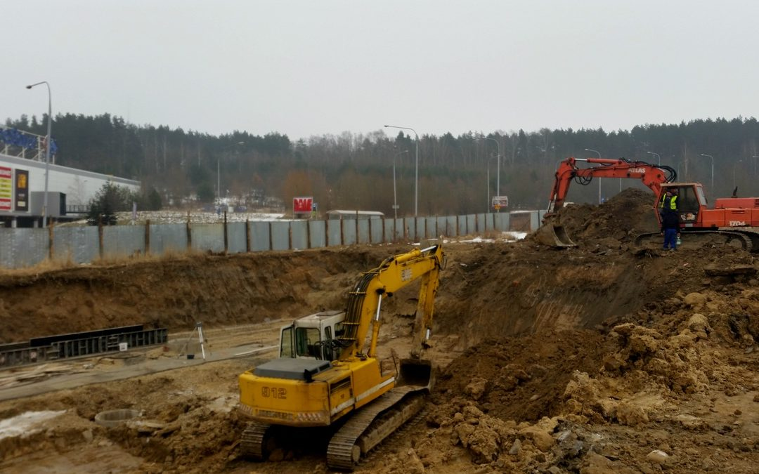 City Park – prace budowlane ruszyły